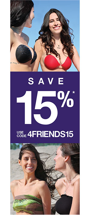 Save 15%* Use Code FRIENDS15