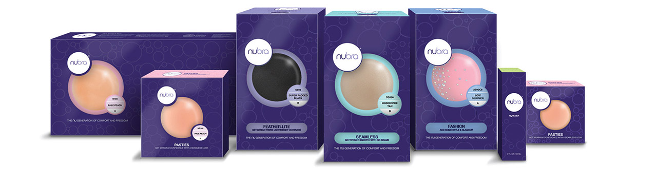 Discover the original family of NuBra products